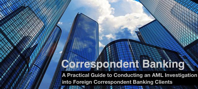 correspondent banking investigation