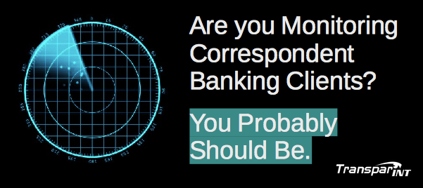 Correspondent Bank Monitoring